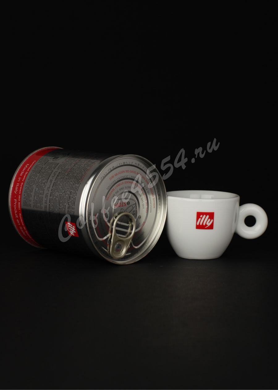 Кофе illy ( Илли ) молотый 125 грамм средней обжарки