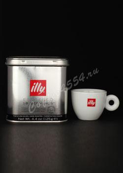 Кофе illy в чалдах 125 грамм сильной обжарки