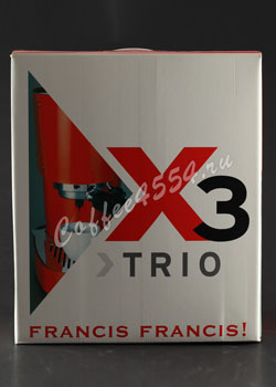 Кофемашина Francis Francis X3 (Фрэнсис Фрэнсис) X3